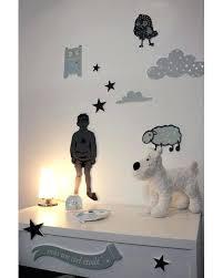 chambre bébé nuage deco chambre etoile sticker enfant 2 nuages actoilacs decoration