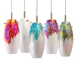 Colored Glass Pendant Lights Colored Glass Pendant Lighting Colo Blown Glass Pendant