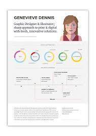 10 cool resumes made by professional graphic designers learn it