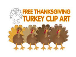 free thanksgiving turkey clip by lita lita tpt