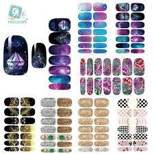 metallic nail foil wraps aliexpress buy rocooart k1 nail stickers metallic water