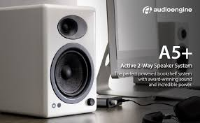 Bookshelf Computer Speakers Amazon Com Audioengine A5 Active 2 Way Speakers Black Home