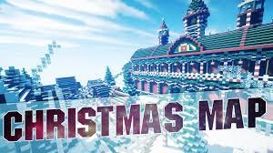 minecraft christmas city cinematics youtube