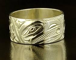Native American Wedding Rings by Haida Wedding Ring Etsy