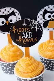 halloween printable owl oween party by love the day