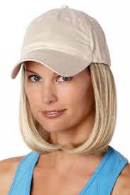 chemo hats with hair attached baseball cap with hair 8228 classic hat beige