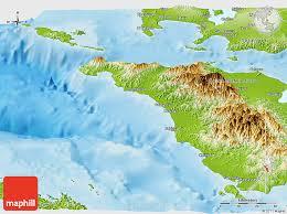 san jose mindoro map physical panoramic map of occidental mindoro