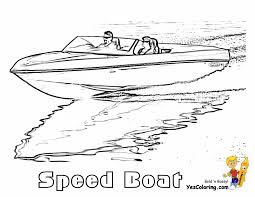 rugged boat coloring page boats ship pages performance picture to