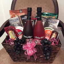 wine gift baskets delivered best 25 chocolate gift baskets ideas on wine bottle