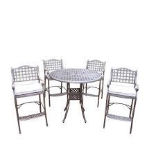 elite dining room furniture bar height dining sets outdoor bar furniture the home depot