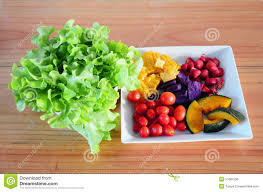mixed vegetable and fruit salad stock photo image 51681536