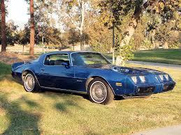 Last Year Of Pontiac Firebird Pontiac Firebird 1981