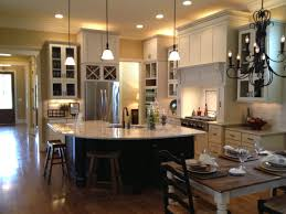kitchen island with seating area marvelous open kitchen floor plans with island concept a lighting