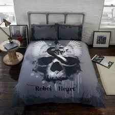 skull king size bedding pictures skull king size bedding for