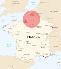 Brest France Map by Half Of France Gdp Is Located Inside The Circle 1501x1722 Mapporn