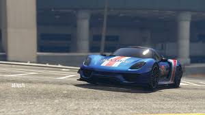 Porsche 918 Gta 5 - real specs for porsche 918 gta5 mods com