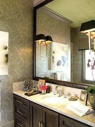 ideas for bathroom mirrors cool bathroom mirror ideas bathroom mirrors wood