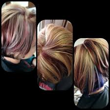 hair platinum highlights plum highlights on hair subtle plum highlights hair ideas
