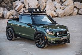 concept off road truck mini paceman adventure off road concept unveiled motorlogy