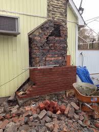 chimney rebuild 2015