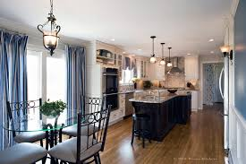 seagull lighting in kitchen traditional with pendants island