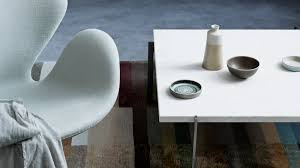 Arne Jacobsen Coffee Table by The Swan Easy Chair Fabric