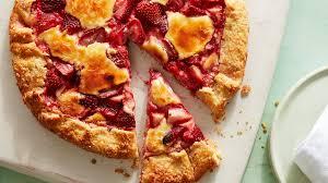 strawberry cheesecake galette recipe food network kitchen food