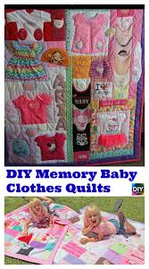 memory clothes how to diy memory baby clothes quilts diy 4