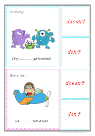 the simple present tense present tense the pack and fun games