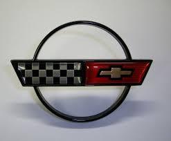 c4 corvette emblem 1988 89 corvette aluminum wheel center cap emblem keen parts