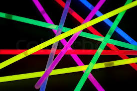 glow sticks up of multicolor glow sticks stock photo colourbox