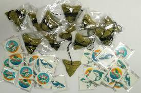 Favor Set by Shark Favor Set 12 Shark Tooth Necklaces And 36