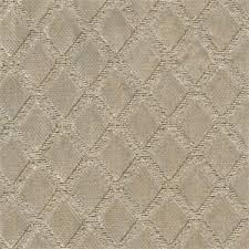 Diamond Upholstery Marquise Champagne Solid Gray Cut Chenille Diamond Upholstery