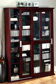 black cabinet with glass doors media storage cabinet media storage black storage cabinets cabinet