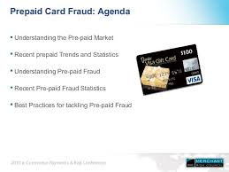 online prepaid card prepaid card fraud understanding the problem developing a solution