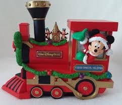 disney mickey mouse christmas train collectible walt disney world