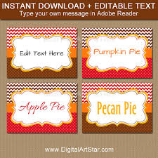 thanksgiving place cards printable thanksgiving label