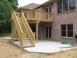 deck plans patio ideas elevated small building a on pinterest