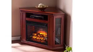 fi9316 claremont corner media infrared fireplace brown mahogany