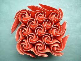 Origami Tessalation - mckeever s origami tessellations neatorama