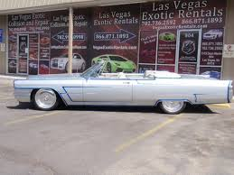 rental las vegas 65 cadillac convertible and luxury car rental in las vegas