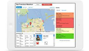 Sf Marathon Map Sportzpeak U0027s Racesafe Your Smart Solution For Event Medical Care