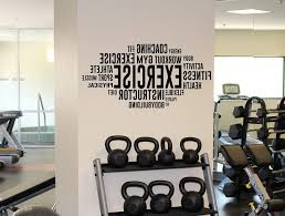 home gym wall decor 15 ideas of wall art for home gym