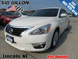 nissan altima 2015 cargo net pre owned 2015 nissan altima 2 5 sl 4 door sedan in lincoln