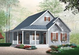 Cottage House Plans With Wrap Around Porch Clever Ideas One Story House Plans With Porches Interesting Design