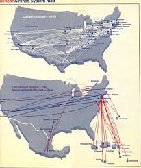 American Route Map by When Was American U0027s First Post Deregulation Europe Route 1982