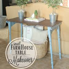 small farmhouse table makeover mccall manor