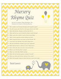yellow chevron nursery rhyme quiz yellow gray elephant
