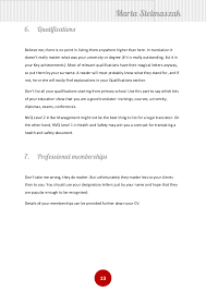 how to write a translator u0027s cv