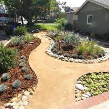 rock landscaping idea for front yard outside creations